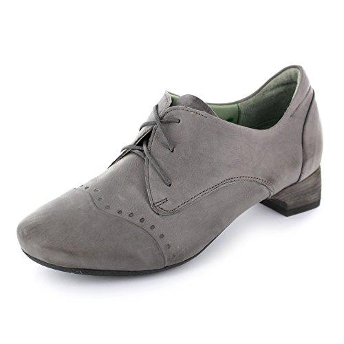 Think mujer Nana de KRED para Gris de Piel gris Zapatos cordones 01wA0r