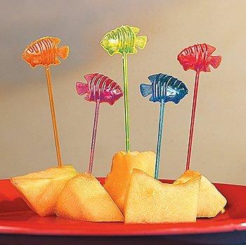 Fun Express Tropical Fish Party Food Picks - 72 Pieces… ()
