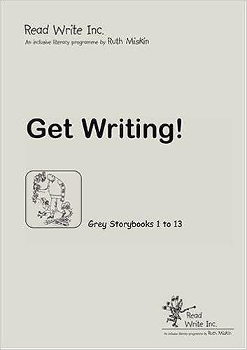 Read Write Inc Grey Get Writing Book Ruth Miskin