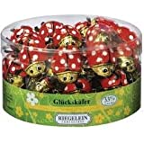 Chocolate Lady Bugs, 60 Count Tub