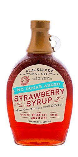 Blackberry Patch Sugar Free Syrup (Strawberry)