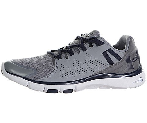 Under Armour New Men's Micro G Limitless TR Cross Trainer Steel/Midnight Navy 10