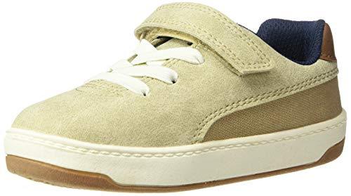 carter's Boys' Retro Casual Sneaker, Khaki, 8 M US Toddler ()