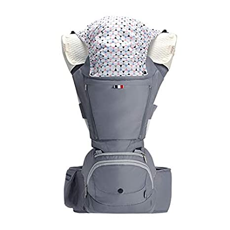 Baby Carrier With Hip Seat 6 In 1 Ergonomic For Infants And Toddler Soft Extra