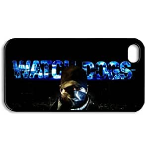 tina gage eunice's Shop Hot Game DIY-2 Watch Dogs Print Black Case With Hard Shell Cover for Apple iPhone 5/5S 6603587M45886706