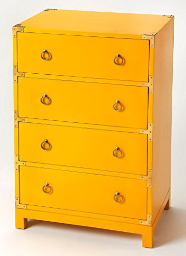 Accent Chest in Distressed Yellow Finish 797066 by Butler