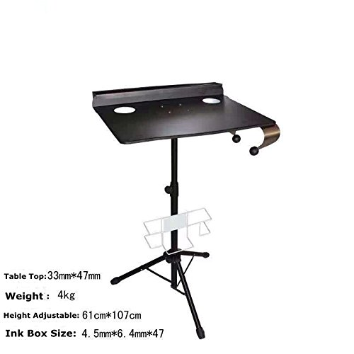 Tattoo Workstation Table -Yuelong Adjustable Tattoo Work Station Table Desk Steel Portable Collapsable,Tattoo Table Use for Tattoo ink,Tattoo Machines,Tattoo Supplies by Yuelong (Image #2)