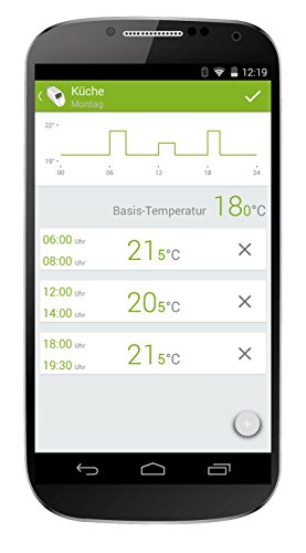 Eqiva CC-RT-BLE-EQ Blanco termoestato - Termostato (Blanco, LCD, AA, 2 año(s), Android 4.4, Android 5.0, Android 5.1, Android 6.0, Android 7.1, iOS 10.0, ...