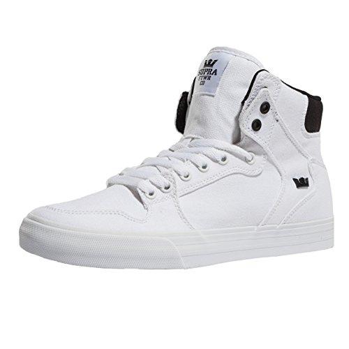 Weiß VAIDER Supra S28058 Unisex Weiß Erwachsene Sneakers Sportive 1xg6w