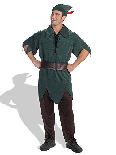 Disney Adult Peter Pan Costume X-Large (42-46),]()