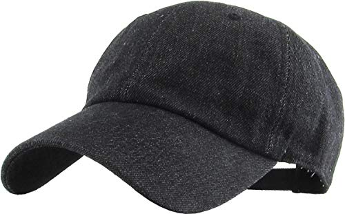 KB-Low BDM Classic Cotton Dad Hat Adjustable Unconstructed Plain Cap