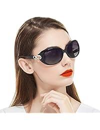 Retro Sunglasses for Women Driving, Large Frame Polarized...