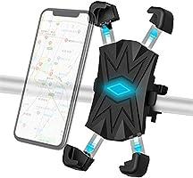 自転車 スマホ ホルダー Redod 自転車 ホルダー 携帯 脱落防止 オートバイ バイク スマートフォン GPSナビ 携帯 固定 マウント スタンド 防水 に適用 iPhone 11 Pro/11 Pro...