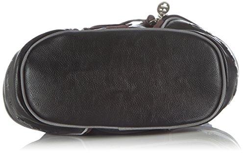 Poodlebag Borsa A Tracolla Donna Multicolore mehrfarbig black