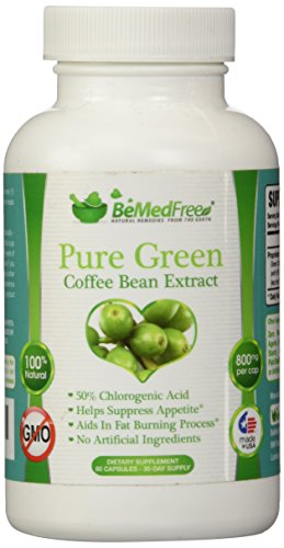 BeMedFreecom-Pure-Green-Coffee-Bean-Extract-800mg-All-Natural-Weight-Loss-Pills-For-Men-Women