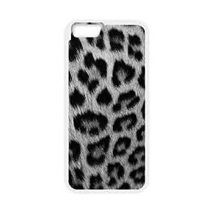 iPhone6 Plus 5.5 inch Phone Cases White Snow leopard JEB2241696