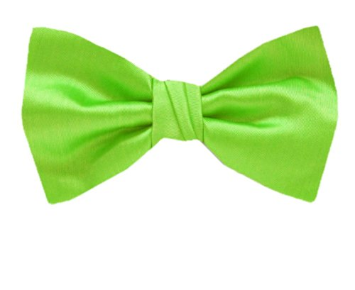 Solid Self Tie Bow Tie XL for Men Big and Tall