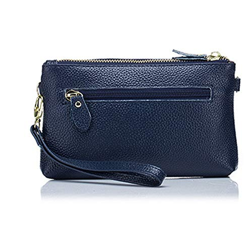 Zipper Pocket Wristlet Wallet Clutch Small Crossbody Purse Handbag