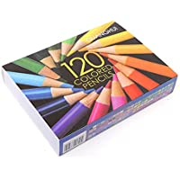 SODIAL 120Colors Wood Colored Pencils Set Artist Painting Oil Color Pencil for School Drawing Sketch Art Supplies