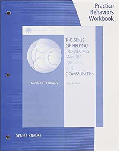 Practice Behaviors Workbook for Shulman's Brooks/Cole Empowerment Series