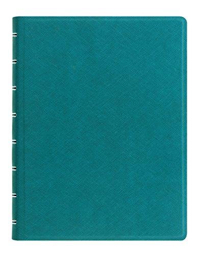Filofax A5 Refillable Notebook Saffiano Aqua