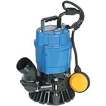 "Tsurumi HSZ2.4S;  float operated semi-vortex submersible trash pump w/agitator, 1/2hp, 115V, , 2"" discharge"