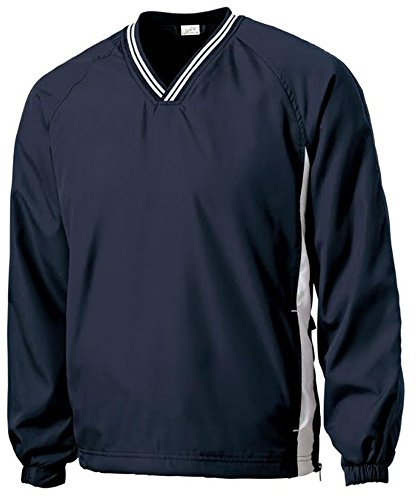 (Joe's USA(tm - Men's Athletic All Sport V-Neck Raglan Wind Shirts in 4XL)