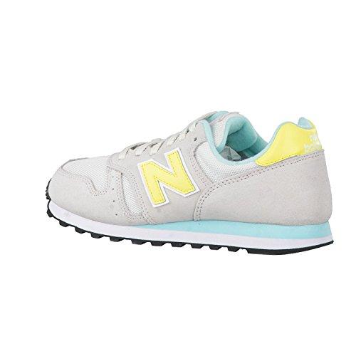 Nye Balance Dame Ml_wl373v1 Sneakers Grå / Gul Cbu2dB