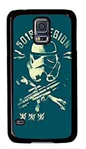 501st Legion And Clone Wars Custom Back Phone Case for Samsung Galaxy S5 PC Material Black -1210184