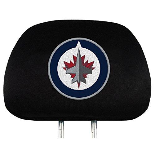 NHL Winnipeg Jets Head Rest Covers, - Winnipeg Shop Head