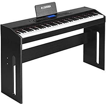 artesia pa 88h 88 key weighted hammer action digital piano with sustain pedal. Black Bedroom Furniture Sets. Home Design Ideas