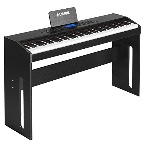 lagrima 88 key digital grand piano console keyboard piano for beginner band essential. Black Bedroom Furniture Sets. Home Design Ideas