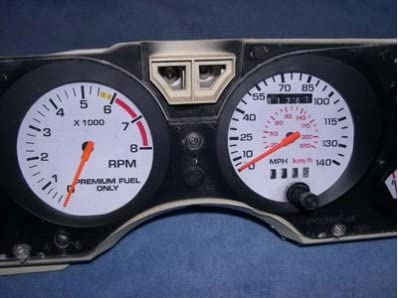 1979-1982 Ford Mustang White Face Gauges Interior Accessories ...