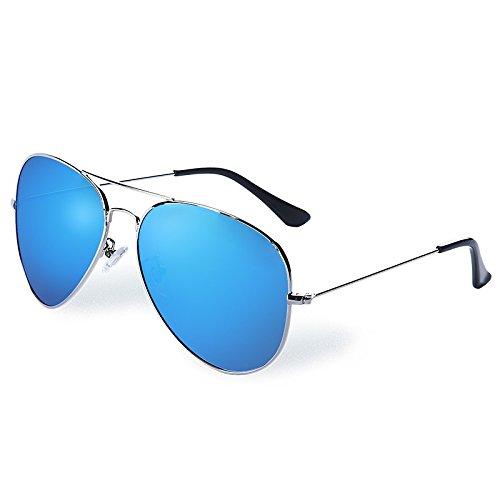 aviador de hombres azul blue conducción sol polarizadas Sunglasses TL gafas vY4PwYq