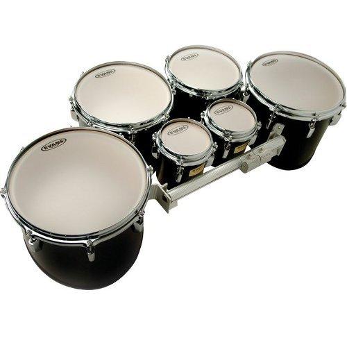 Evans MX Frost Marching Tenor Drum Head, 6 Inch - Tenor Head