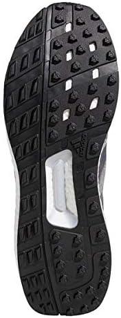 adidas Golf Hommes Adicross Crossknit 3 Chaussures de Golf - Gris/Noir - UK 8.5