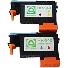 Colour-Store Lower Price 2 PACK Printhead for HP Officejet Pro 8000 8500 Hp 940 Print Head C4900A C4901A For HP Officejet Pro 8000 8500 8500A 8500A Plus 8500A Premium