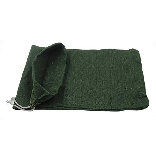OriginA Empty Sandbag Flood Barrier Sand Bags for Flood Control, Eco-Friendly, 10x16in, 30 Pack, Green by OriginA (Image #2)