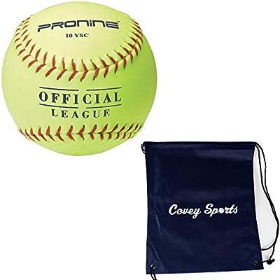 ProNine - Pelotas de Softball para niñas de 8 U/6U (Paquetes de 10 ...