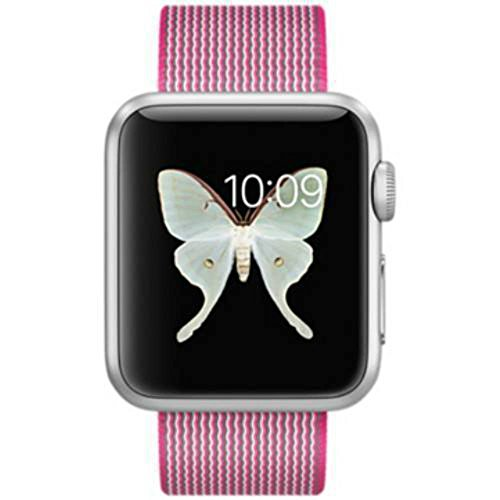 Apple 38 MM Smart Watch – Pink Woven Nylon Review
