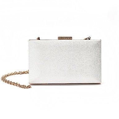 Polyuréthane clutches Pochettes KEY Noir Femme Fermoir Blanc Boules et à white SUNNY Gris xXqAt5wBq