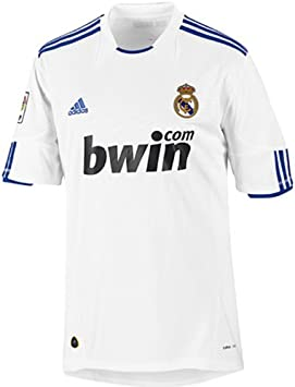 adidas Camiseta Real Madrid 2010/2011 P96163 blanco Talla:small ...