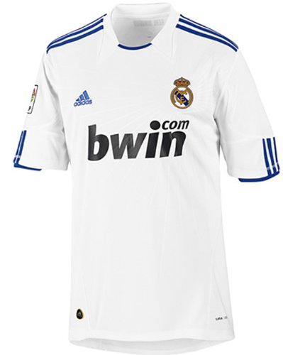 adidas Camiseta Real Madrid 2010/2011 P96163 blanco Talla:small: Amazon.es: Deportes y aire libre