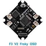 BETAFPV F3 Brushed Flight Controller V2 Upgrade Version Integrated with OSD Frsky Receiver