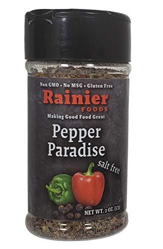 (Rainier Foods Pepper Paradise | Salt-Free Seasoned Pepper (2 oz.) )