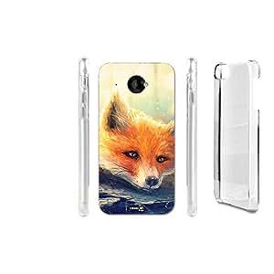 FUNDA CARCASA SLEEPING FOX PARA HTC DESIRE 601