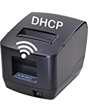 [DHCP] WiFi Kitchen Printer Syson POS 80mm Thermal Receipt Printer with USB LAN Port for Restaurant Receipt and Kitchen Printing ESC/POS Support Linux Windows