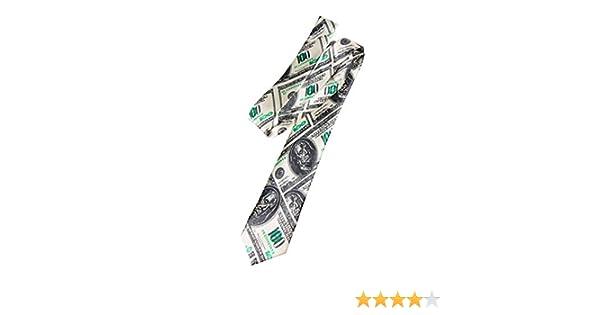 ORLOB Corbata d/ólar de Billetes