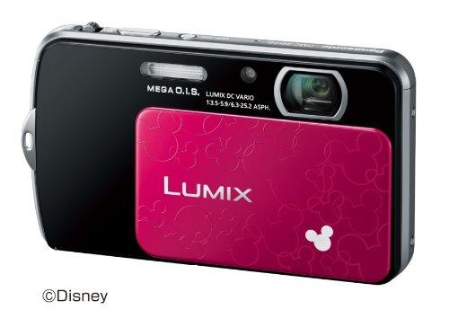 Panasonic digital cameras Lumix Disney model black DMC-FP7D-K