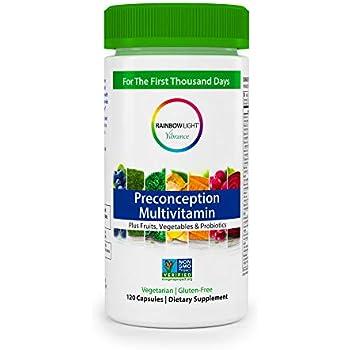 Amazon Com Rainbow Light Prenatal One Multivitamin 120